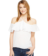 Michael Stars - Double Gauze Off the Shoulder Flounce Top