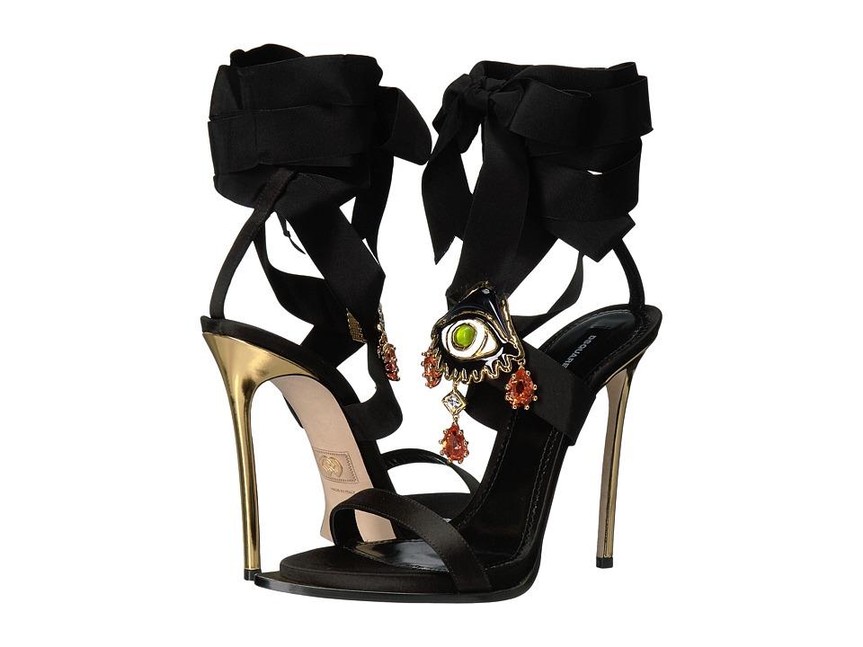DSQUARED2 Raso Sandal (Black/Black) Women