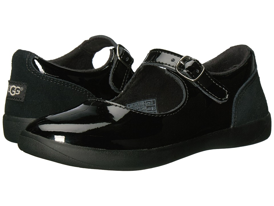 UGG Kids Dorothea (Little Kid/Big Kid) (Black) Girl's Shoes
