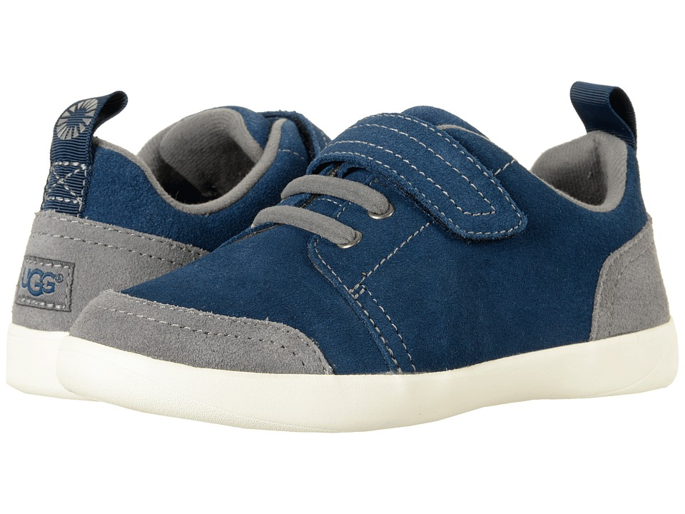 UGG Kids Kegan (Little Kid/Big Kid) (Navy) Kid's Shoes