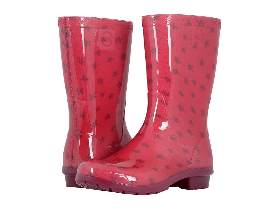 UGG Kids Raana Stars (Little Kid/Big Kid) (Brambleberry) Girls Shoes
