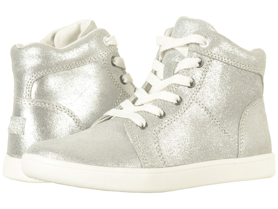 UGG Kids Schyler Metallic (Little Kid/Big Kid) (Silver) Girl's Shoes