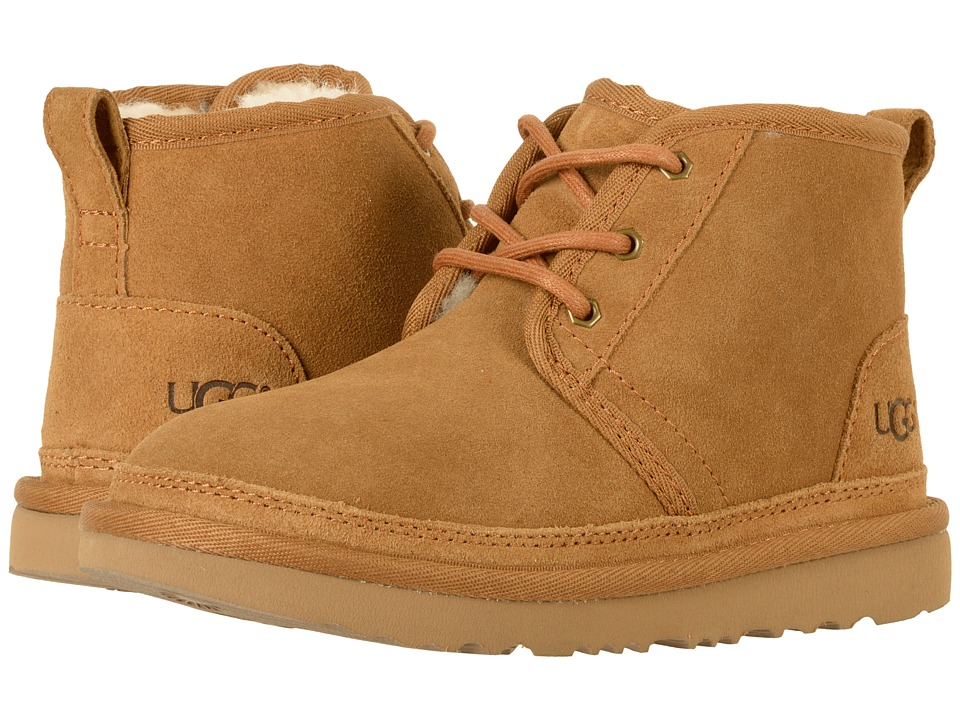 UGG Kids Neumel II (Little Kid/Big Kid) (Chestnut) Kid's Shoes