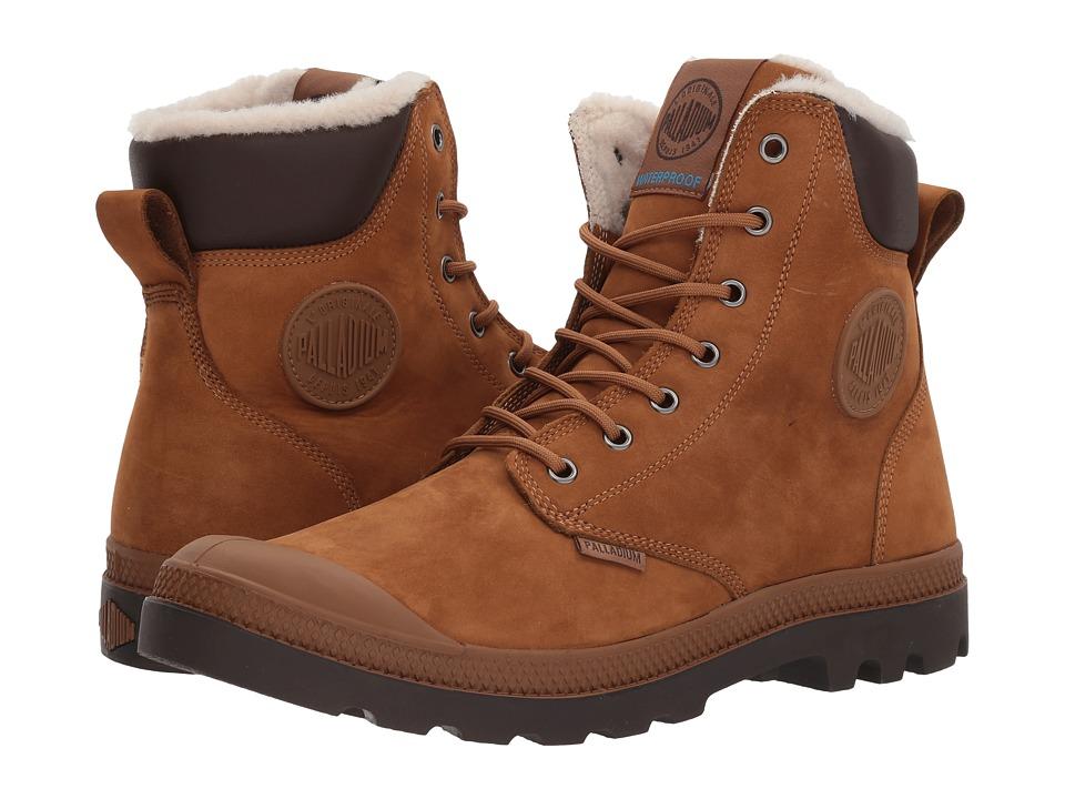 Palladium - Pampa Sport Cuff WPS (Mahogany/Chocolate) Boots