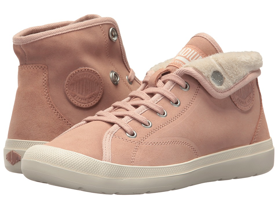 Palladium Aventura Warm Sue (Mahogany Rose/Beige) Women