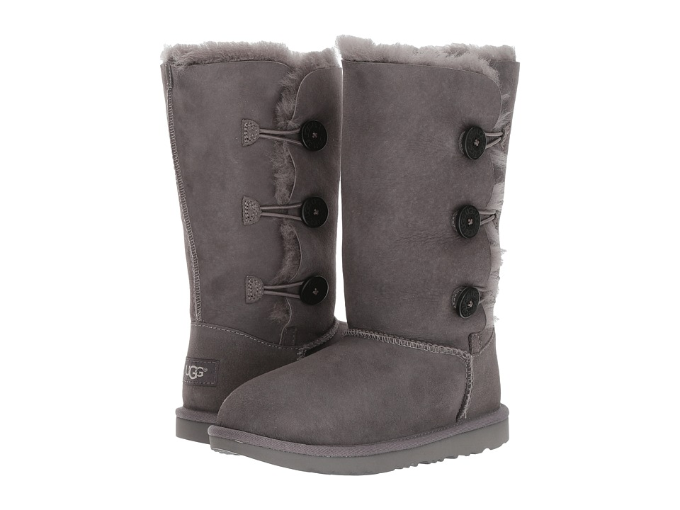 Ugg Kids - Bailey Button Triplet II (Little Kid/Big Kid) ...