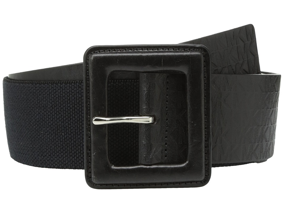 MICHAEL Michael Kors MICHAEL Michael Kors - 50mm Monogram Panel Belt on Self Cover Buckle