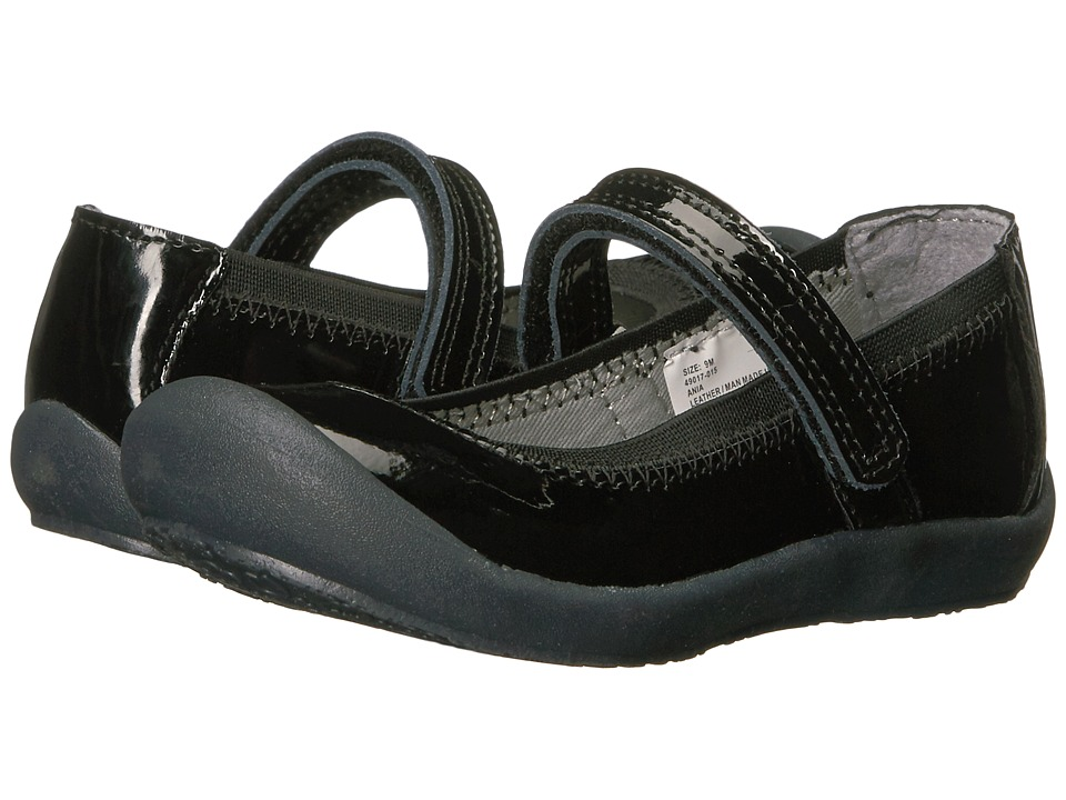 Hanna Andersson Ania (Toddler/Little Kid) (Black) Girls Shoes