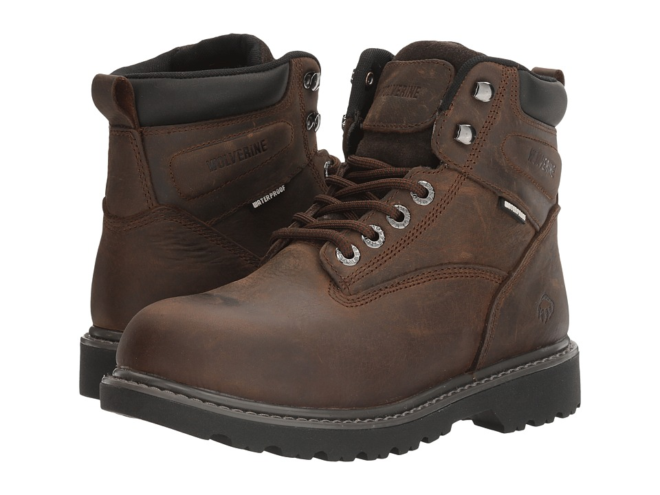 Wolverine Floorhand Waterproof (Dark Brown)