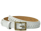 MICHAEL Michael Kors - 20mm Pebble Panel Belt with Lacing