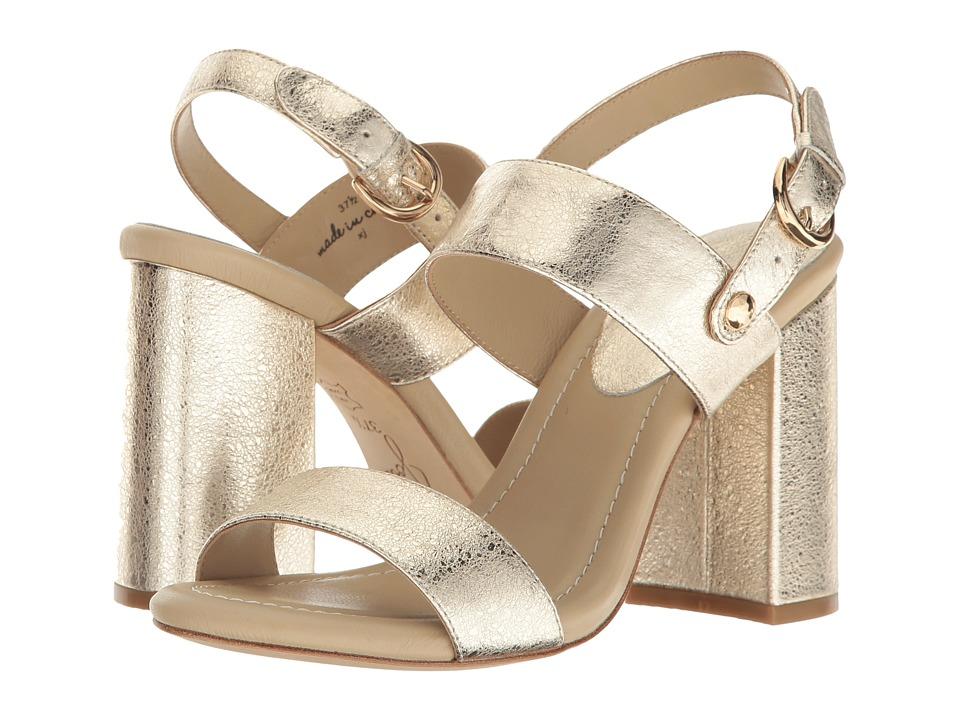 Joie Lakin (Gold Crackled Metallic) High Heels