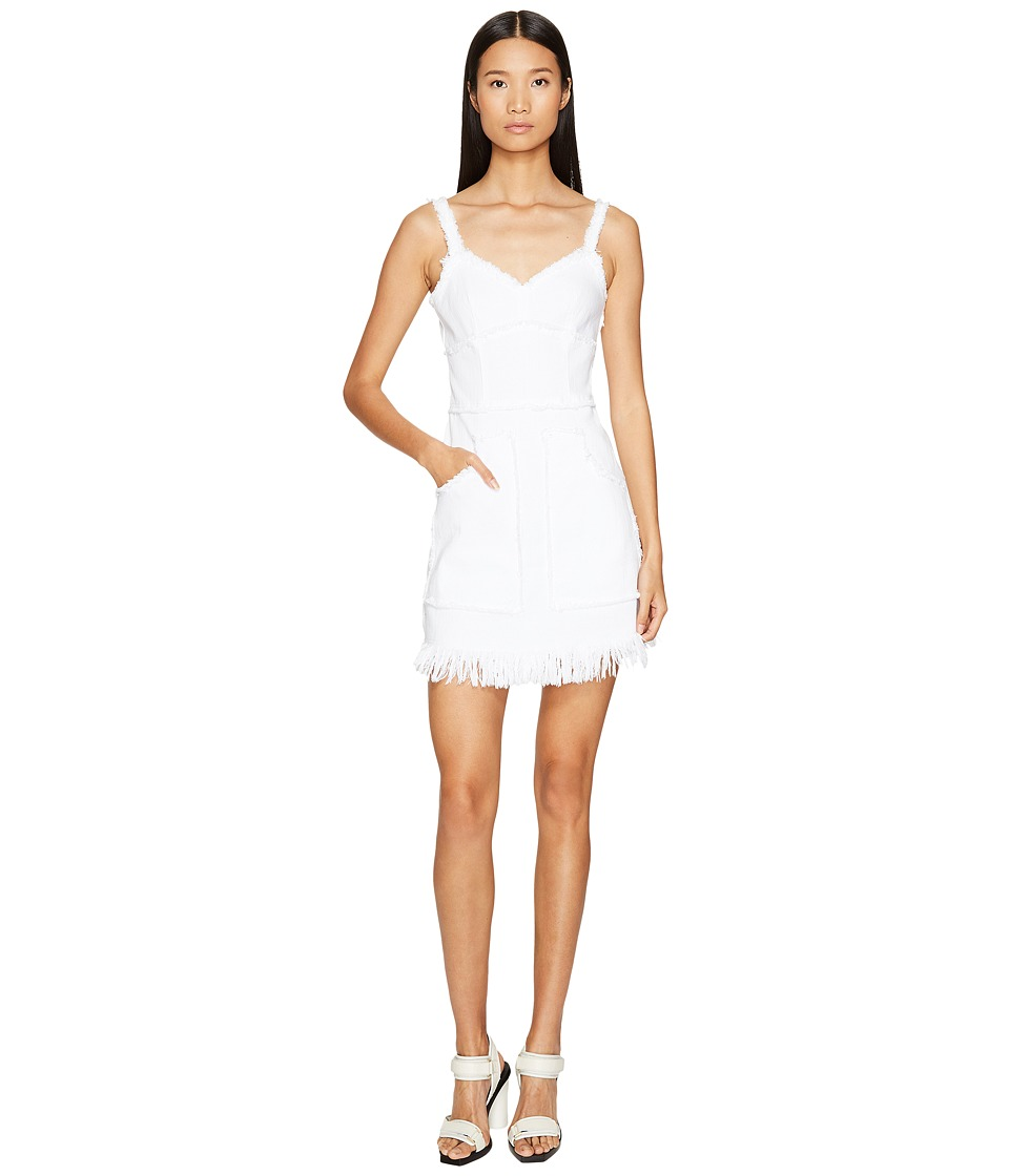 LOVE Moschino Denim Dress (White) Women