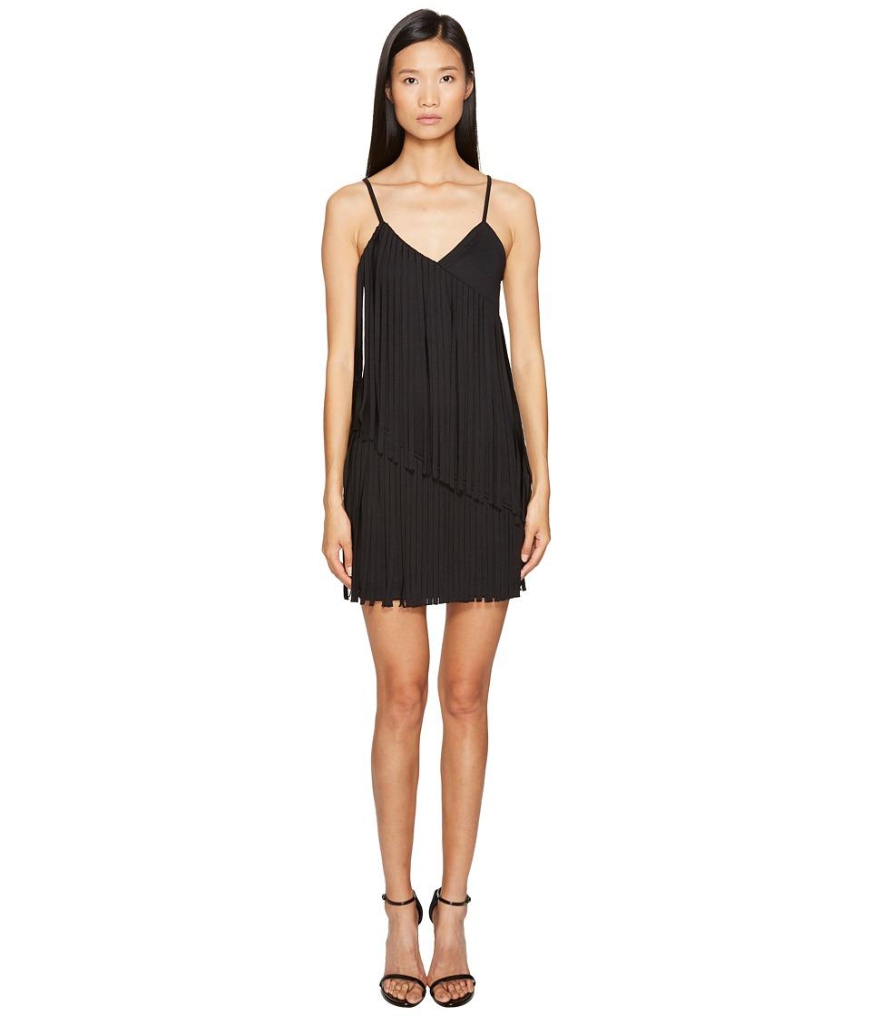 LOVE Moschino Fringe Dress (Black) Women