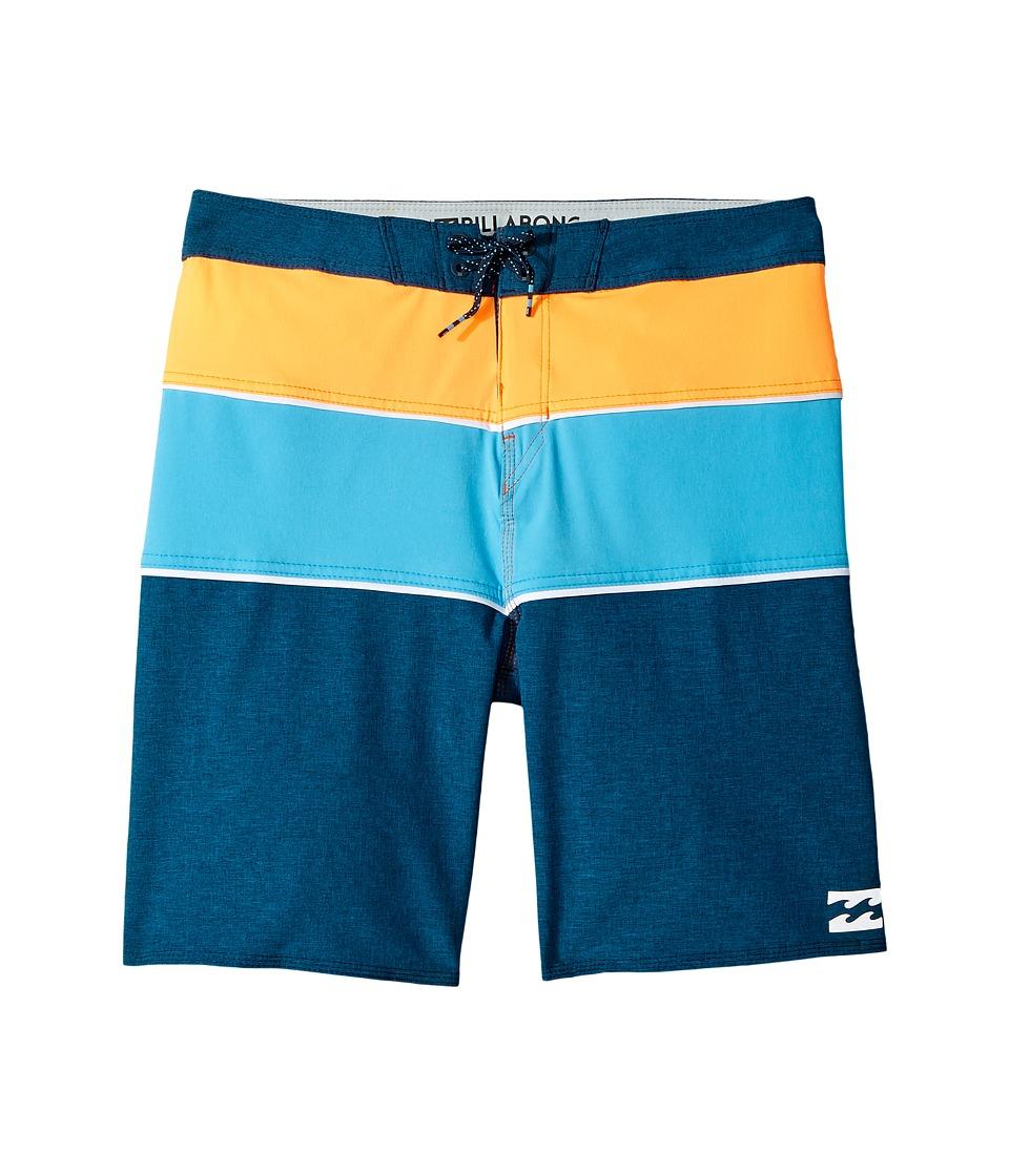 Billabong Kids Tribong X Boardshorts (Big Kids) (Navy) Boy