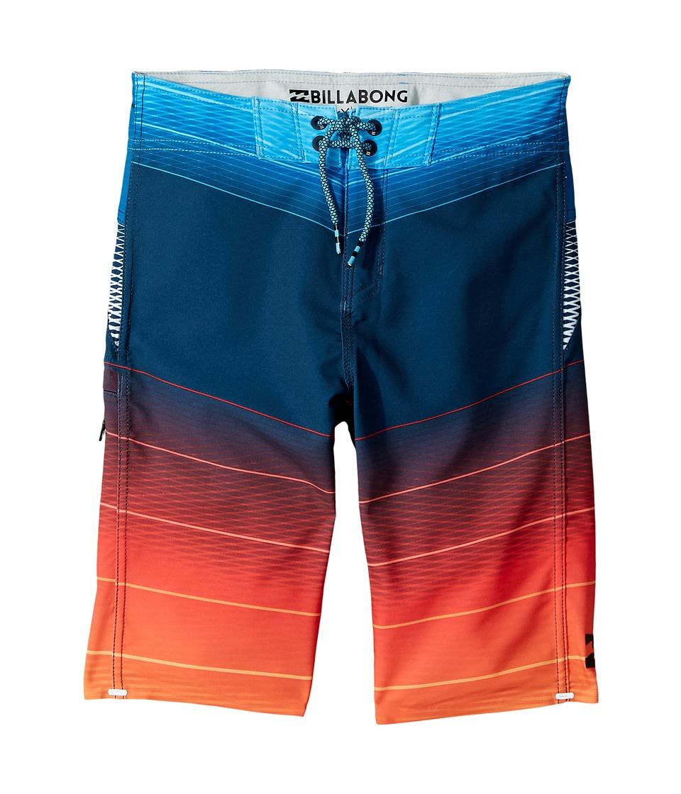 Billabong Kids Fluid X Boardshorts (Big Kids) (Orange) Boy