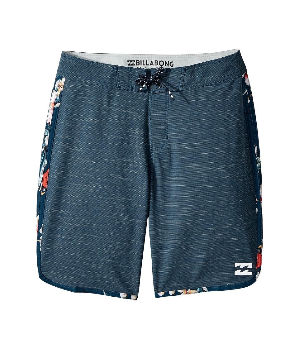 Billabong Kids 73 X Boardshorts (Big Kids) (Navy) Boy
