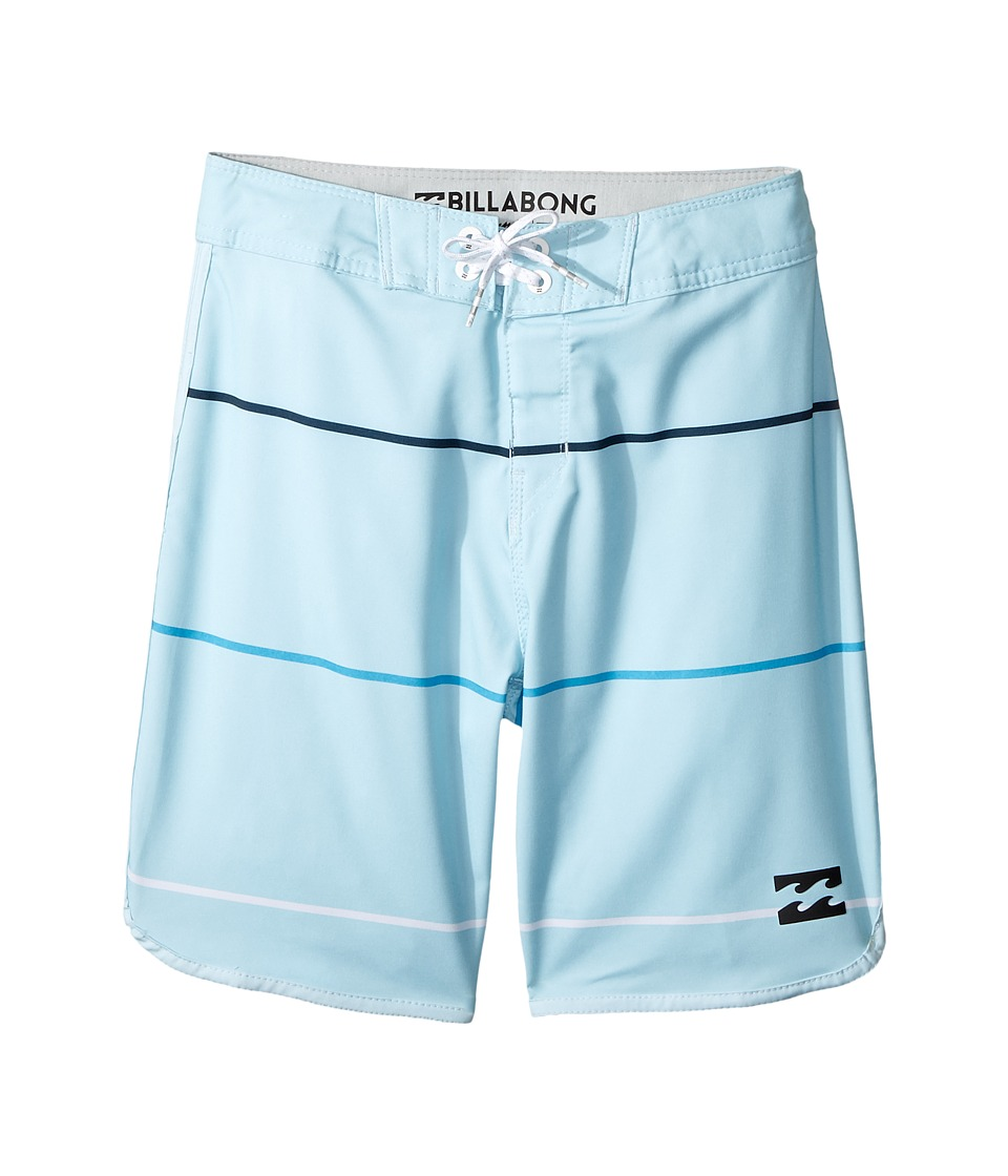 Billabong Kids 73 X Stripe Boardshorts (Big Kids) (Coastal) Boy