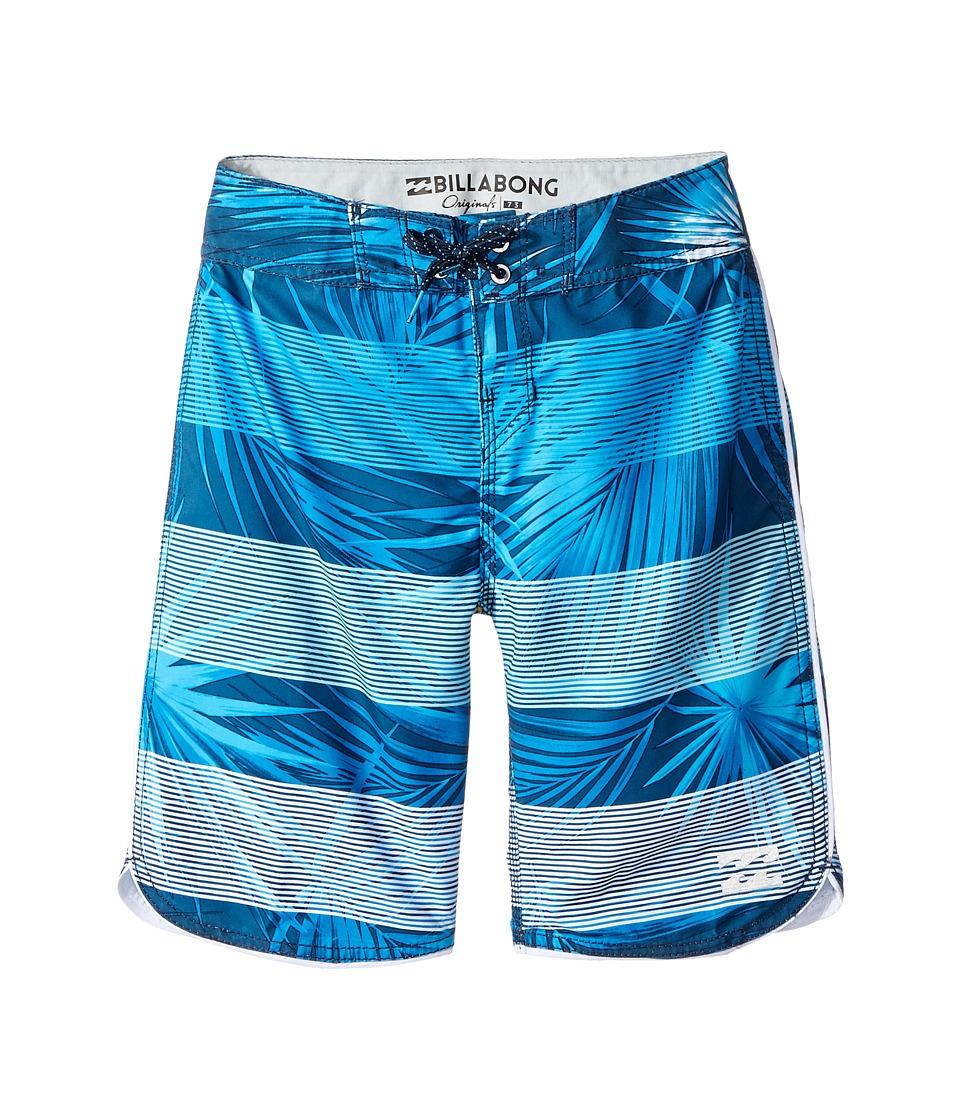 Billabong Kids 73 OG Stripe Boardshorts (Big Kids) (Navy) Boy