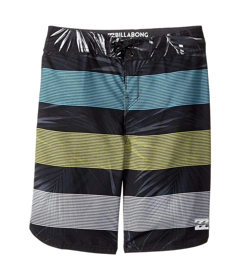 Billabong Kids 73 OG Stripe Boardshorts (Big Kids) (Black 2) Boy