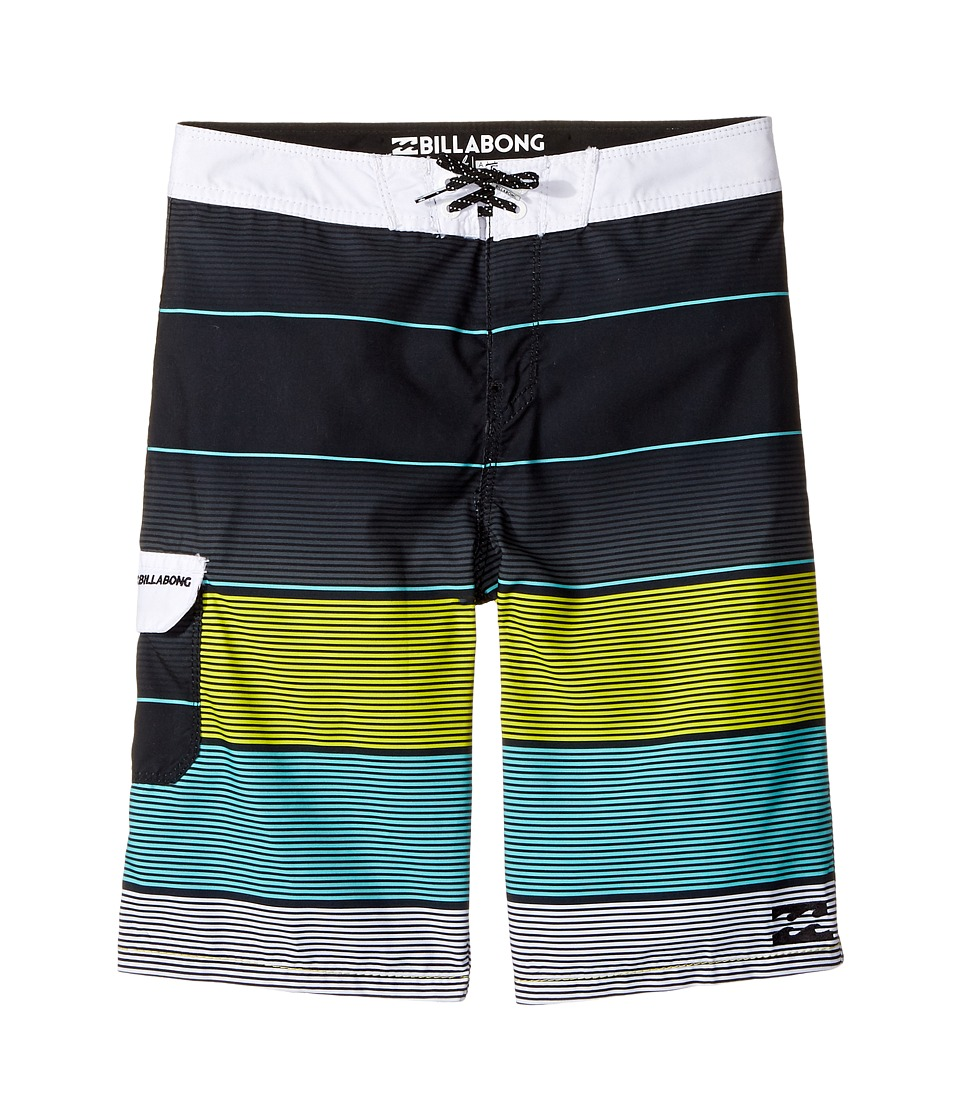 Billabong Kids All Day OG Boardshorts (Big Kids) (Black) Boy