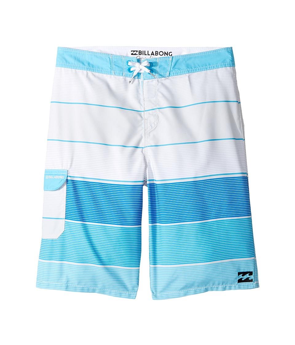Billabong Kids All Day OG Boardshorts (Big Kids) (Stone) Boy