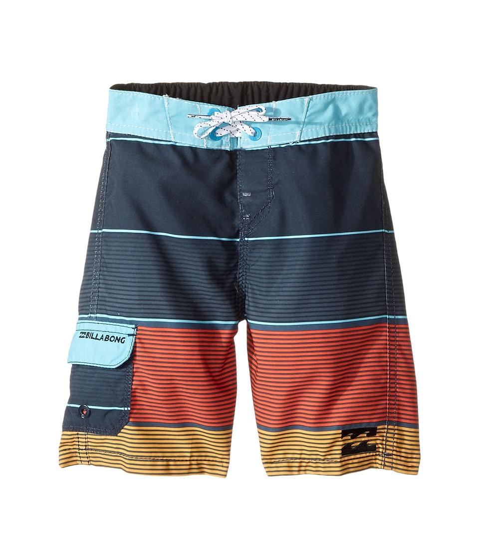 Billabong Kids All Day OG Boardshorts (Toddler/Little Kids) (Indigo) Boy