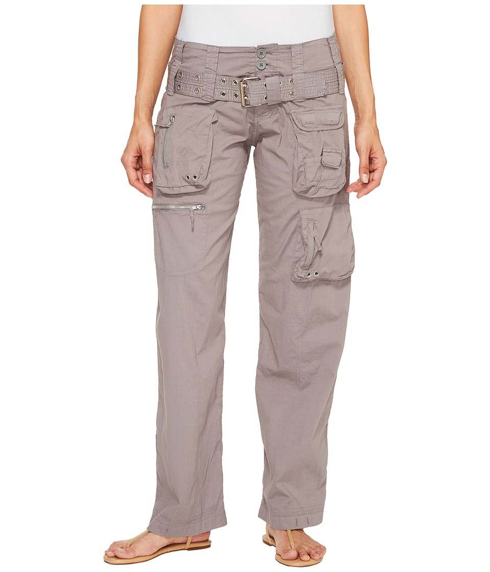 Johnny Was Poplin Cargo Pants (Soot Sediment) Women