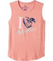 Roxy Kids - Heart Adventure Muscle Tee (Big Kids)