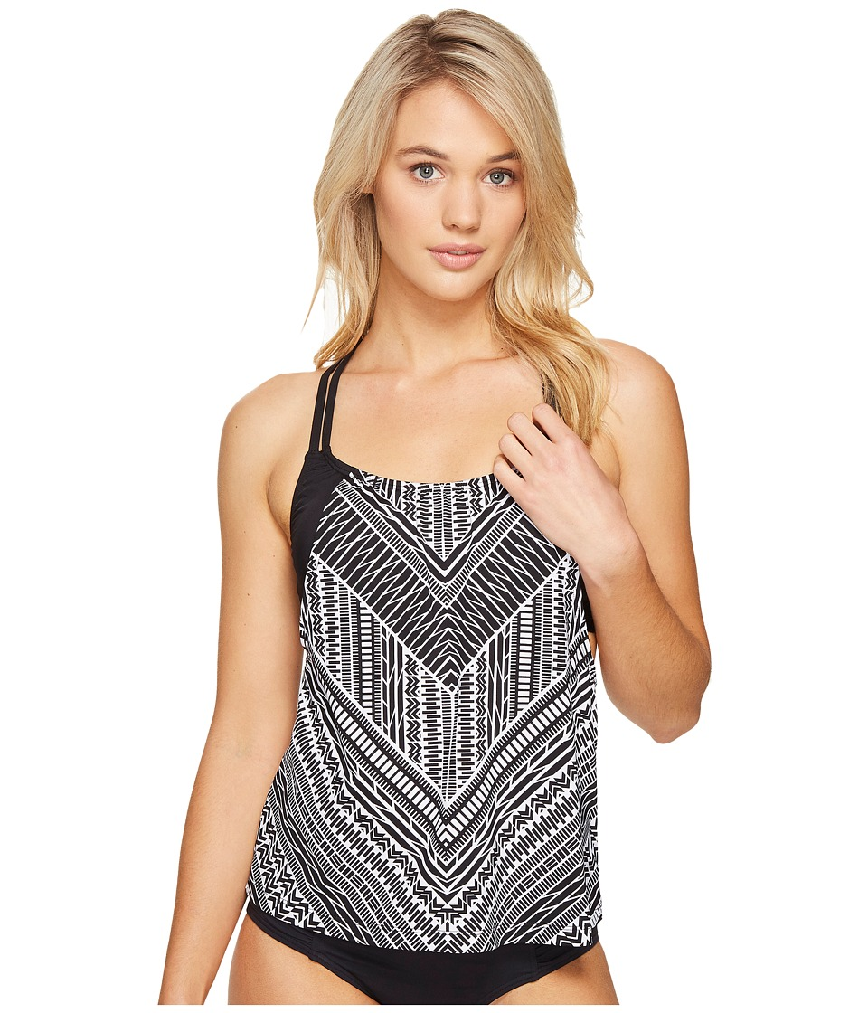 Jantzen Jantzen - Jantzen Sport Crossing Paths Layered Tankini