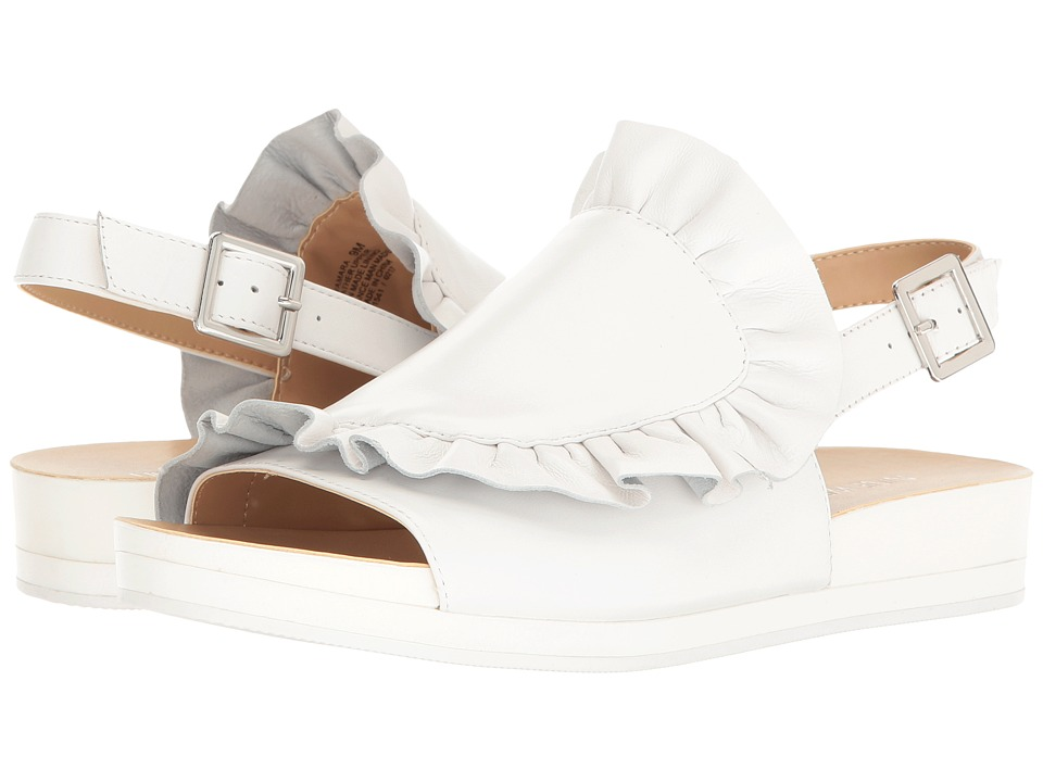 Nine West Amara (White Leather) Women