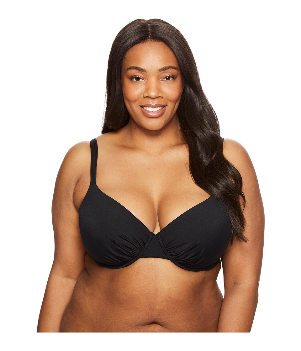 Jantzen - Plus Size Solids Over the Shoulder Underwire Bra