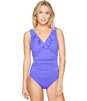 LAUREN Ralph Lauren - Beach Club Ruffle Mio One-Piece