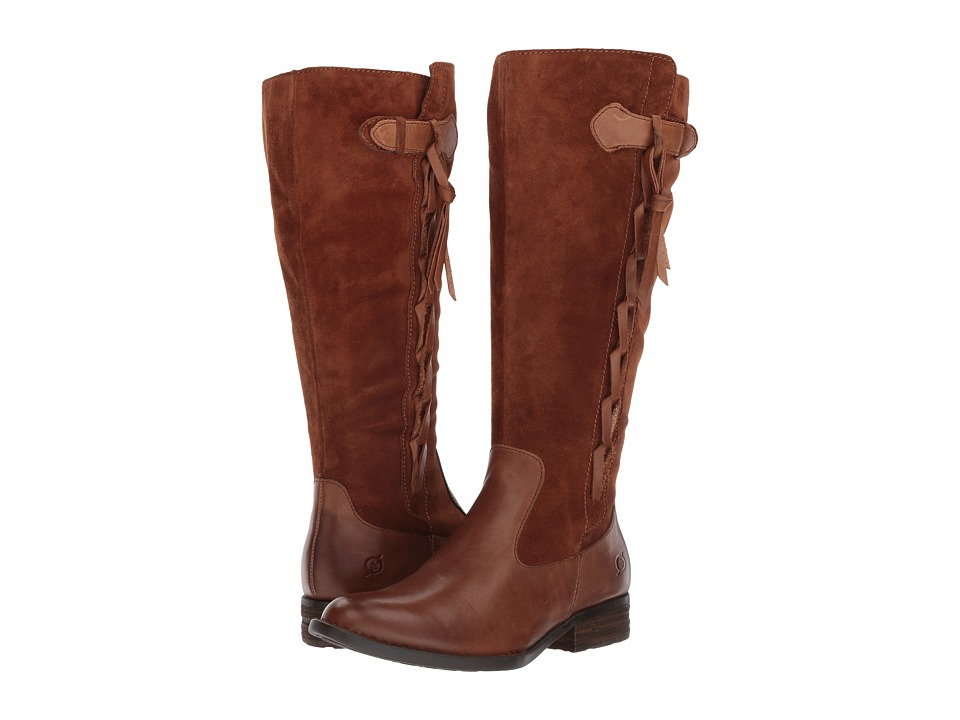 Born Cook Wide Calf (Brown/Rust) Women