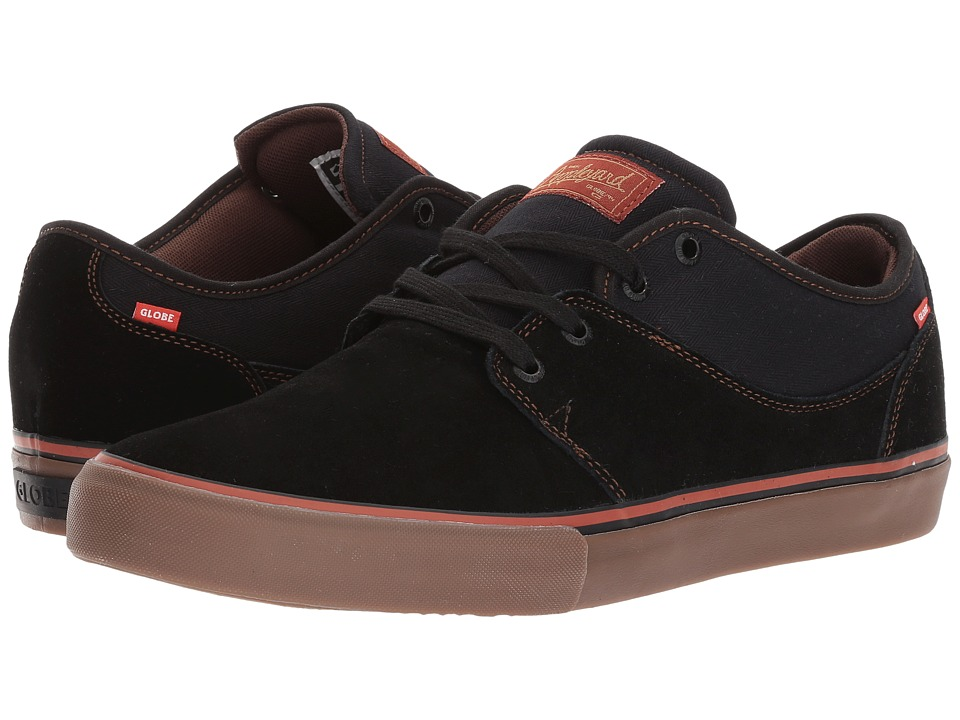 Globe Mahalo (Shaved Suede/Twill) Men