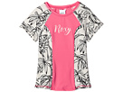 Roxy Kids - California Diary Short Sleeve Lycra Top (Big Kids)