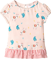 Roxy Kids - Cute Travel Fashion Lycra Short Sleeve Set (Toddler/Little Kids)