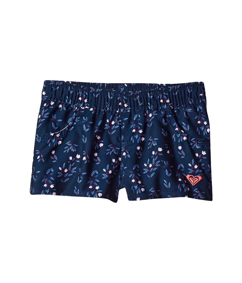 Roxy Kids Star Boho Boardshorts (Toddler/Little Kids) (Swim Dress Blues Nice One) Girl
