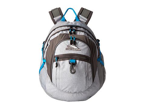 High Sierra Fat Boy Backpack - Jersey Knit/Slate/Pool