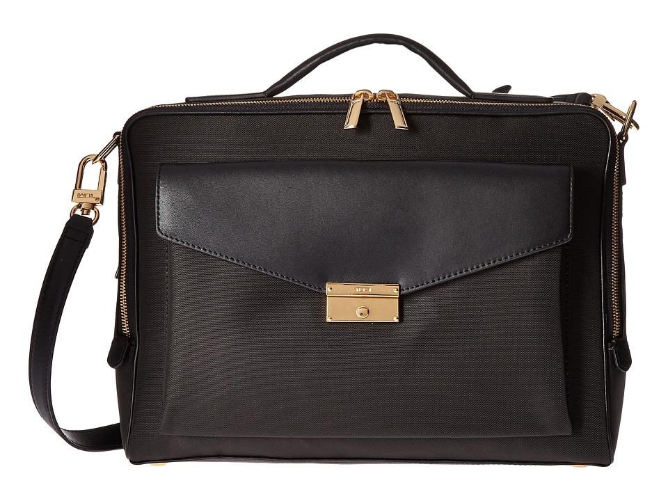 Tumi Larkin Small Erin Brief (Black) Briefcase Bags