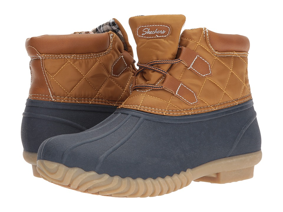 SKECHERS Hampshire (Navy/Tan) Women