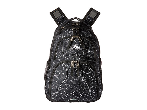 High Sierra Swerve Backpack - Speckle/Black