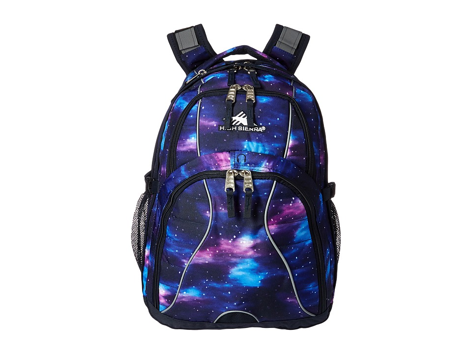 High Sierra Swerve Backpack (Cosmos/Midnight Blue) Backpack Bags