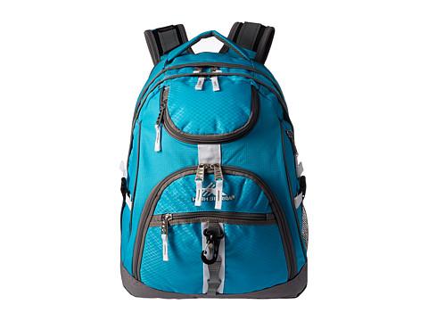 High Sierra Access Backpack - Tropic Teal/Charcoal/White