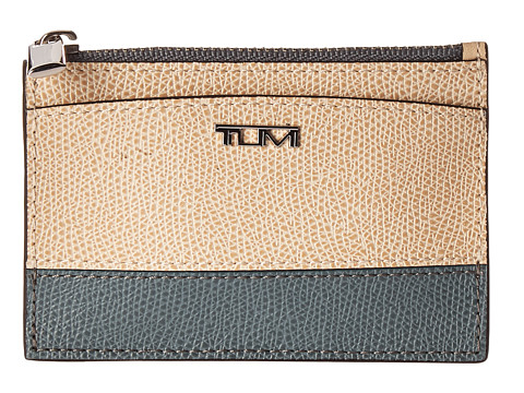 Tumi Sinclair Slim Card Case - Blue/Cream Spectator