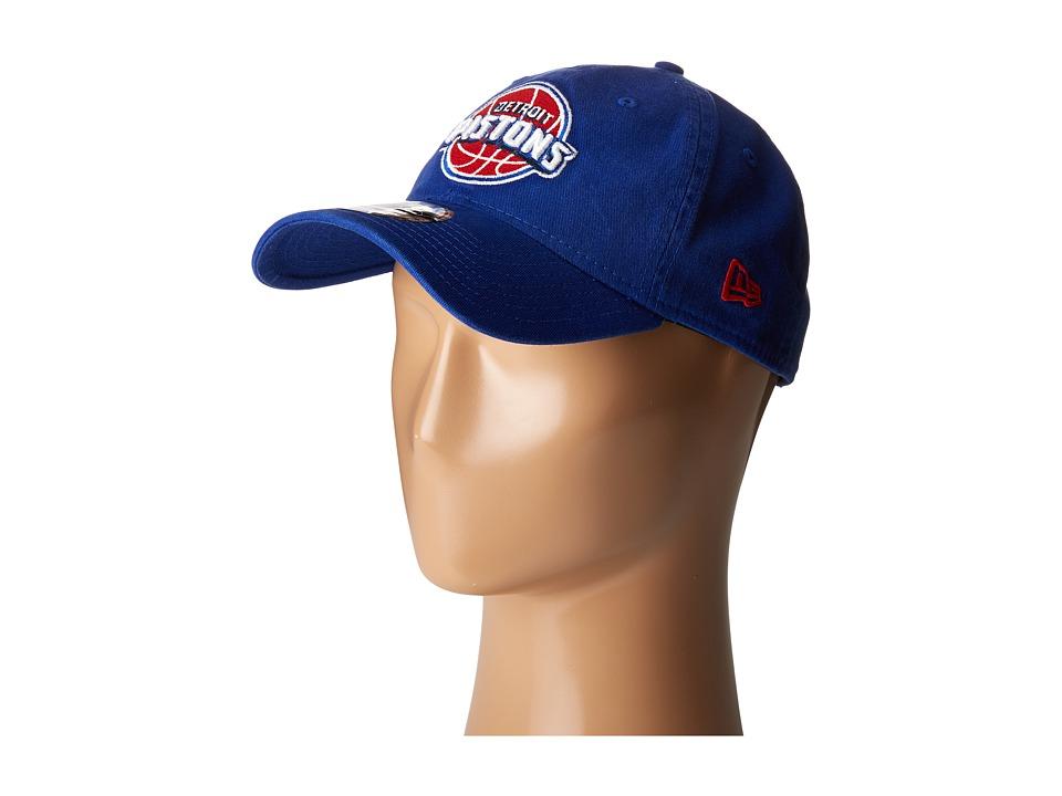 New Era - Core Classic Detroit Pistons (Blue) Baseball Caps