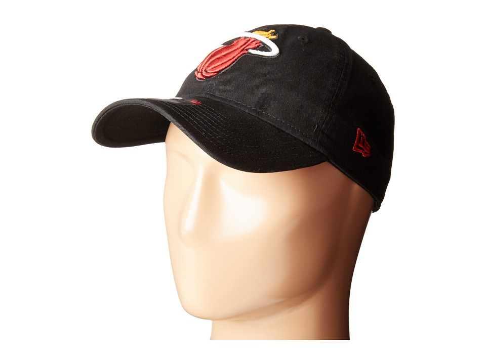 New Era - Core Classic Miami Heat (Red) Baseball Caps