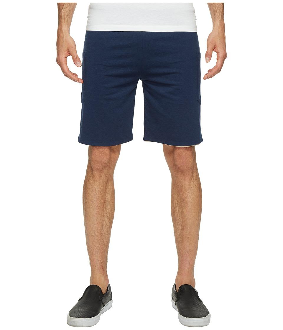 4Ward Clothing - Four-Way Reversible Shorts (Oatmeal/Navy) Boys Shorts