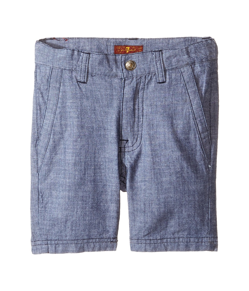 7 For All Mankind Kids - Chambray Shorts