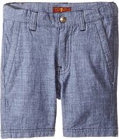 7 For All Mankind Kids - Chambray Shorts (Toddler)