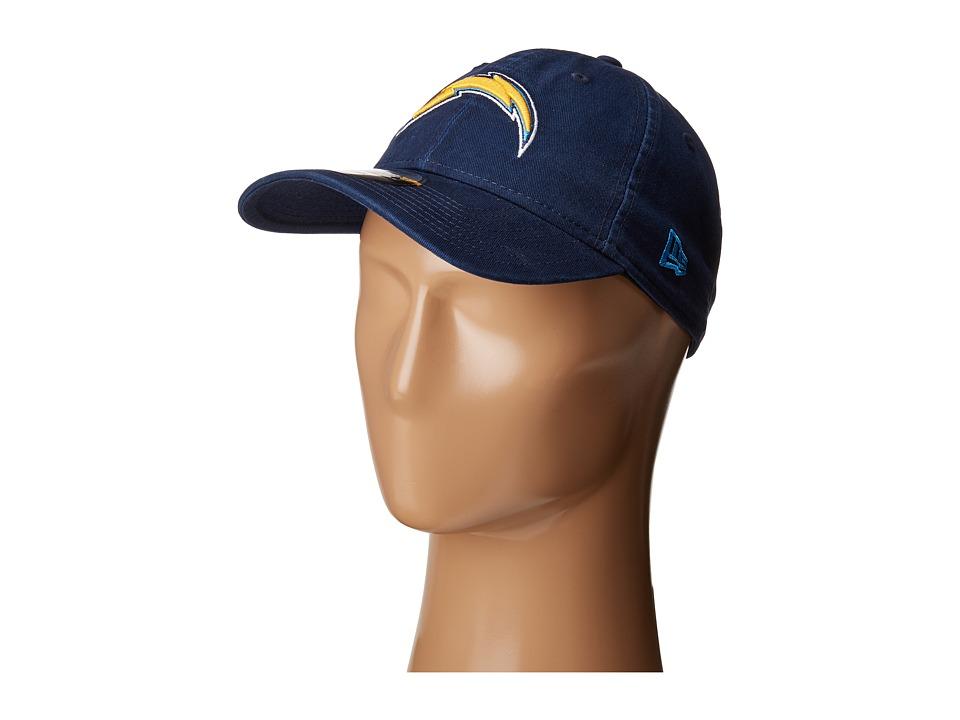 New Era - Los Angeles Chargers 9TWENTY Core (Navy) Baseball Caps